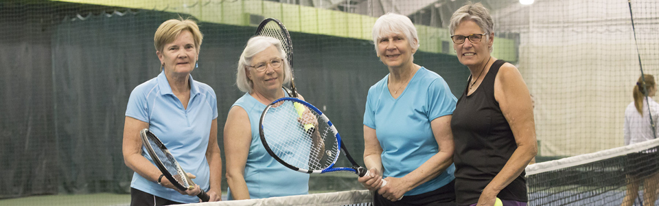 Adult Tennis - Match Play in Portland Maine