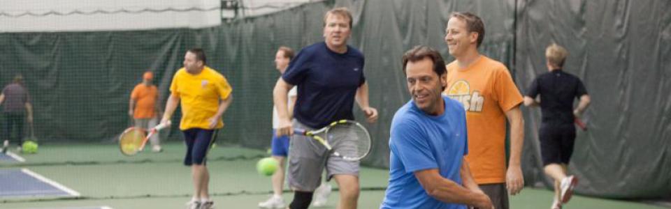 Adult Cardio Tennis Classes in Portland Maine